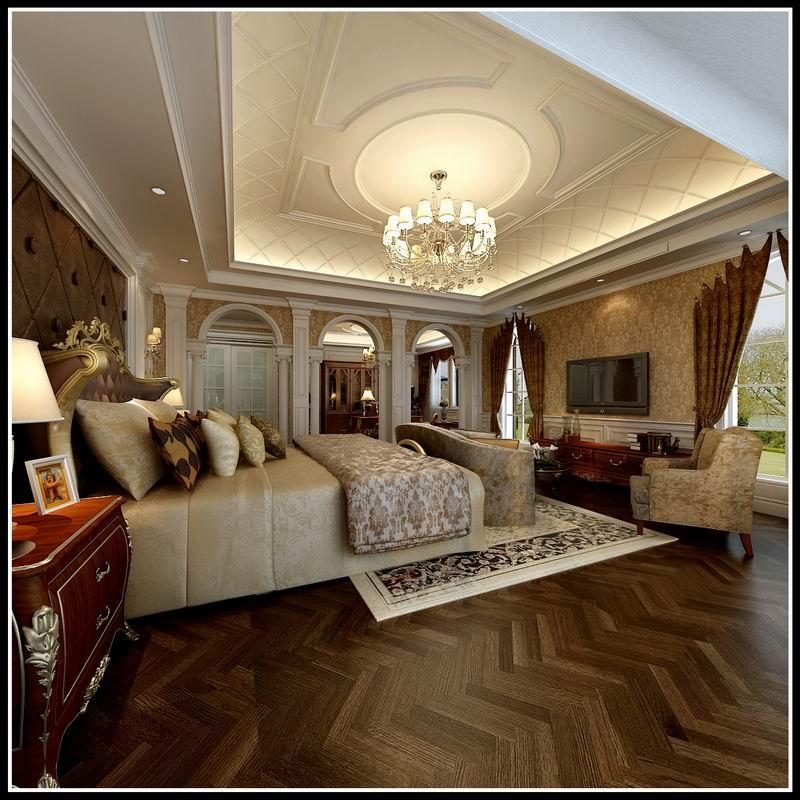 【大者】石家庄大者户型c风格449平后奢华别墅装修设计效果图难建筑设计嘛