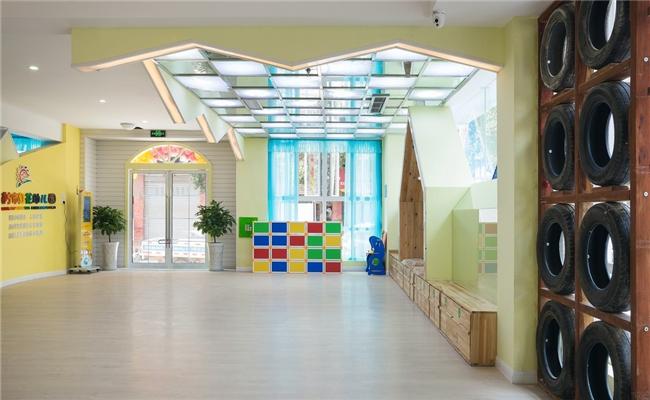 金太阳幼儿园案列三---专业自贡幼儿园装修|自