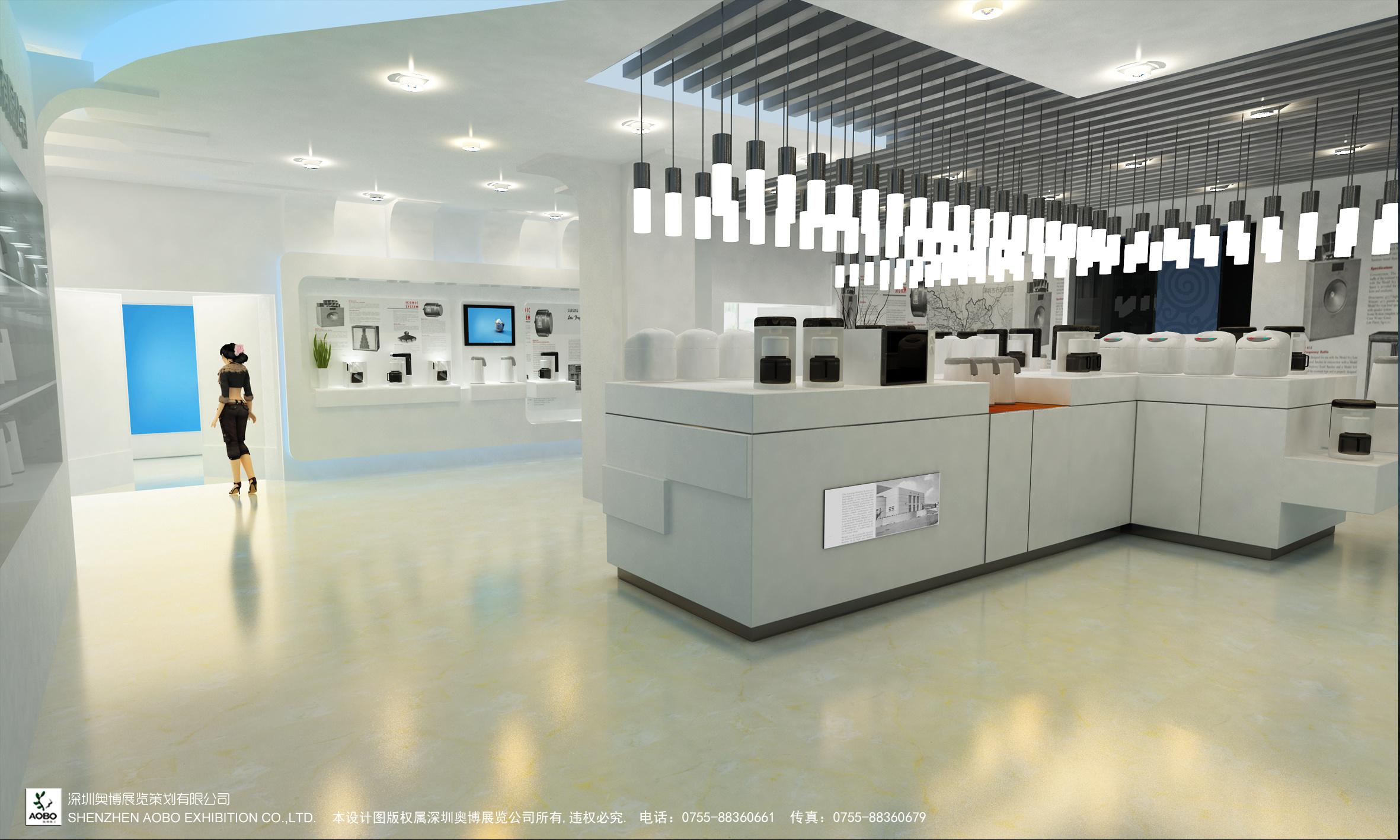 展厅制作方案|空间|展示设计 |_aisin_ - 原创作品