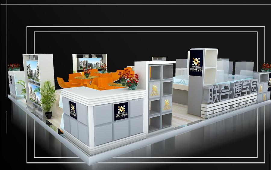 商场展示展台布置|展示设计 |空间|zhuoxiaoren