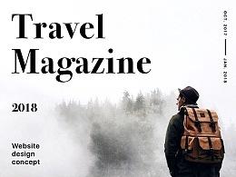 Travel Magazine Website