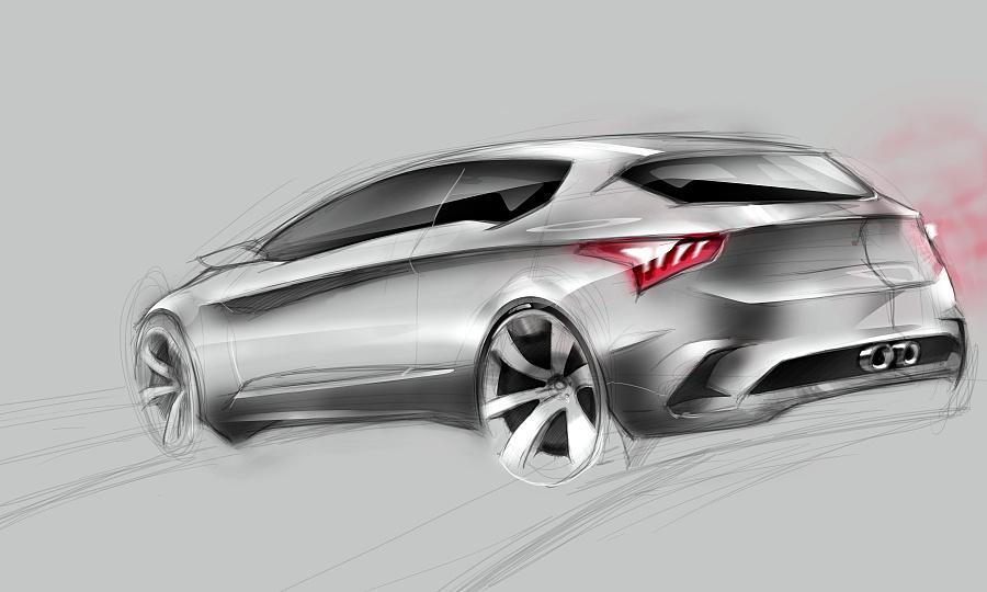之前的手绘练习,关于汽车设计. 交通工具 工业/产品