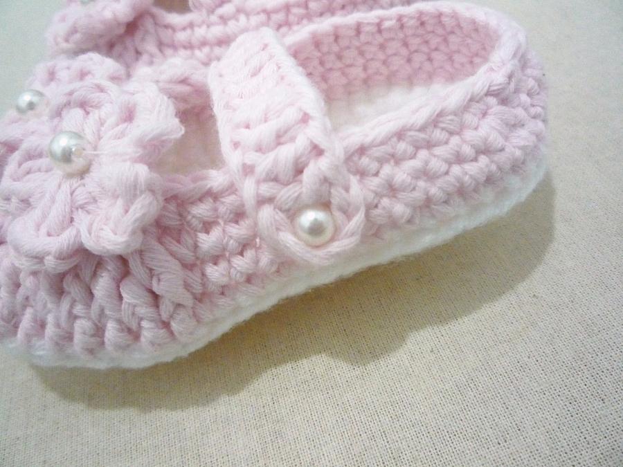 钩针公主宝宝鞋|其他手工|手工艺|布鲁