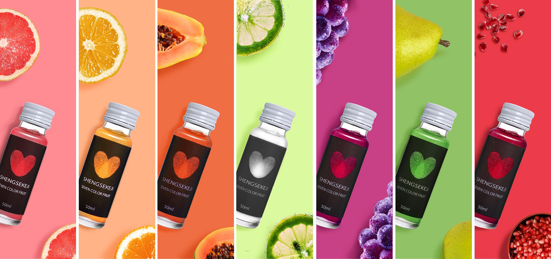 创意果汁产品海报图片