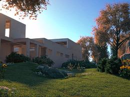 3DADD设想教育 室内建筑特效动画