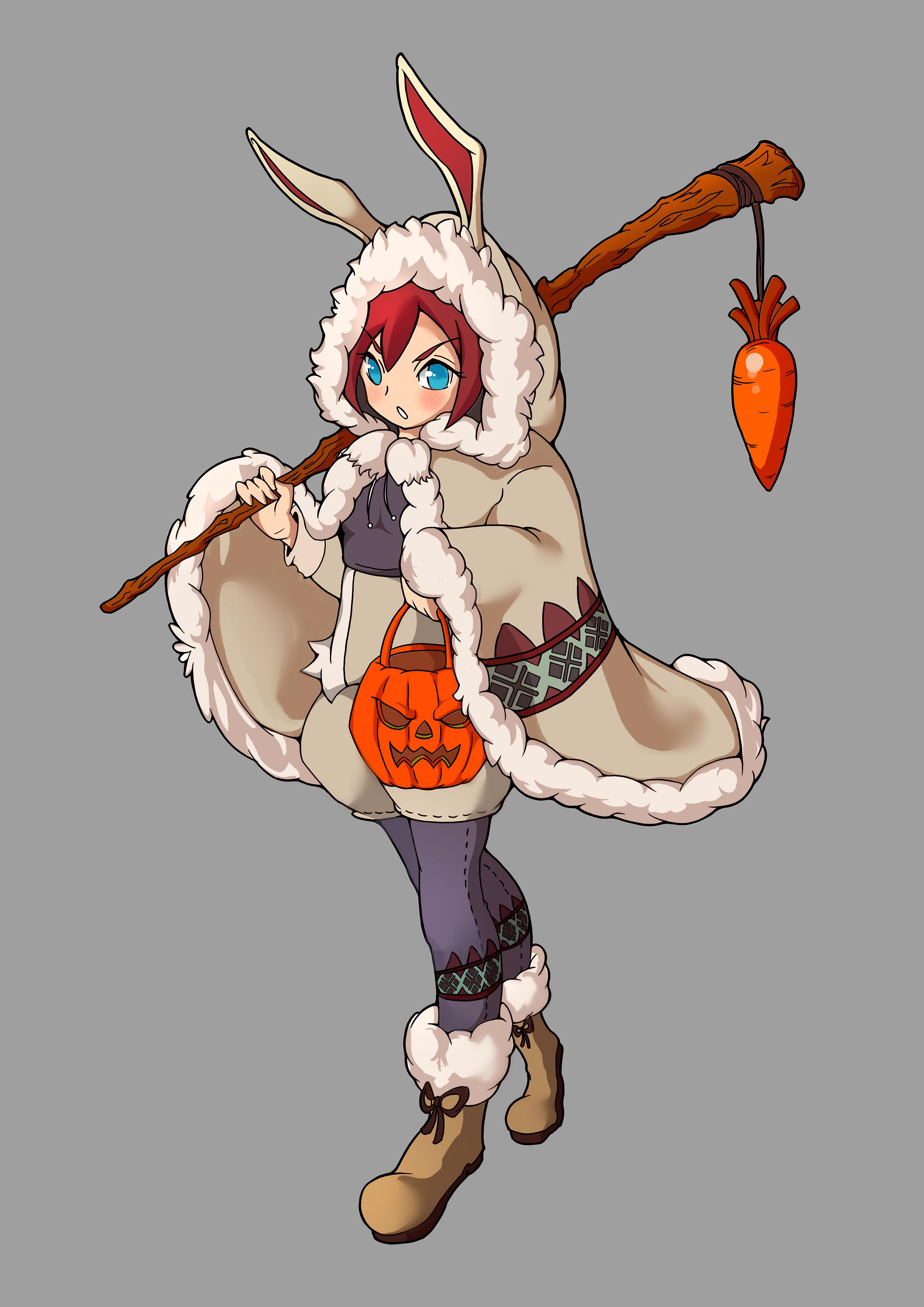 个人原画作品-兔娘