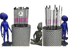 视错觉  3D艺术 装置设计制作 为商业空间点亮创意视觉
