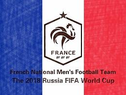 2018年世界杯绘画系列——巡礼高卢雄鸡法国队