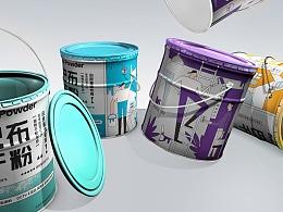 干粉涂料油漆家居品牌包装西安厚启设计