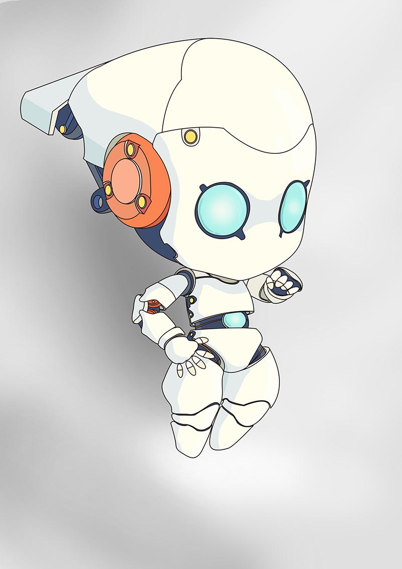 原创作品:机器人系列-01图片