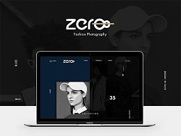 时尚摄影官网&web网页设计概念稿