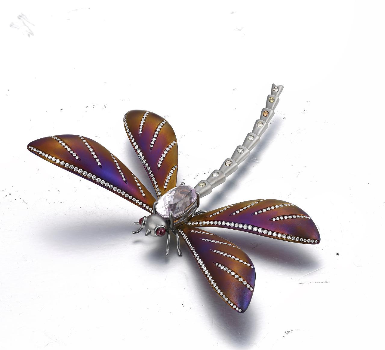 轻粘土手工制作蜻蜓