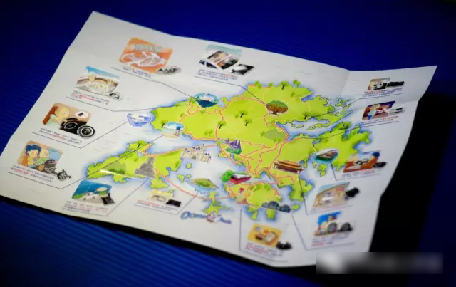 【港囧手绘地图】一汽奔腾b70宣传册