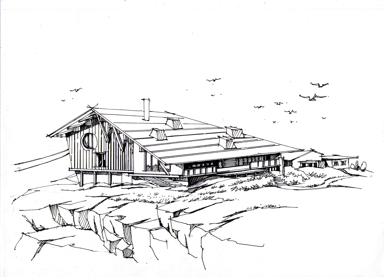 手绘大师作品——ch01serrugg酒店|空间|建筑设计