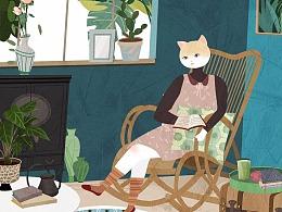 一猫一画一世界