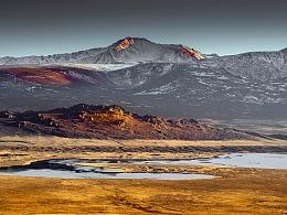 新疆喀纳斯黑湖
