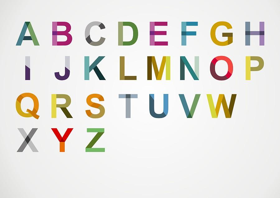 AXL CREW 26个英文字母设计