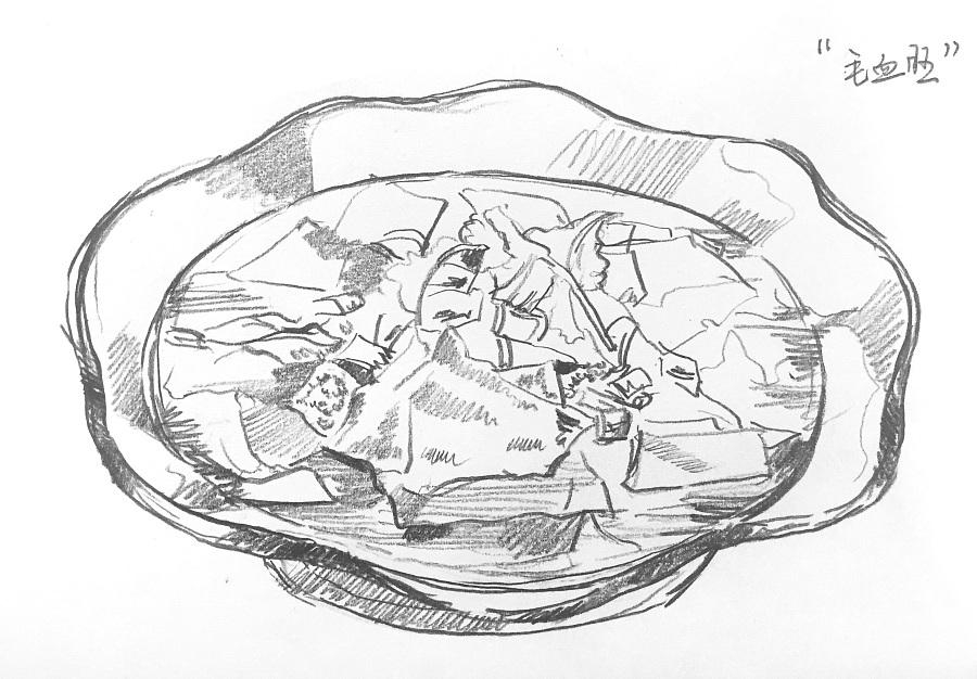 原创作品:手绘菜单配图