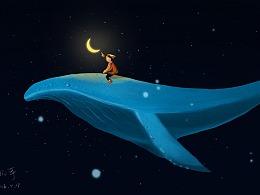 鲸鱼与孩童