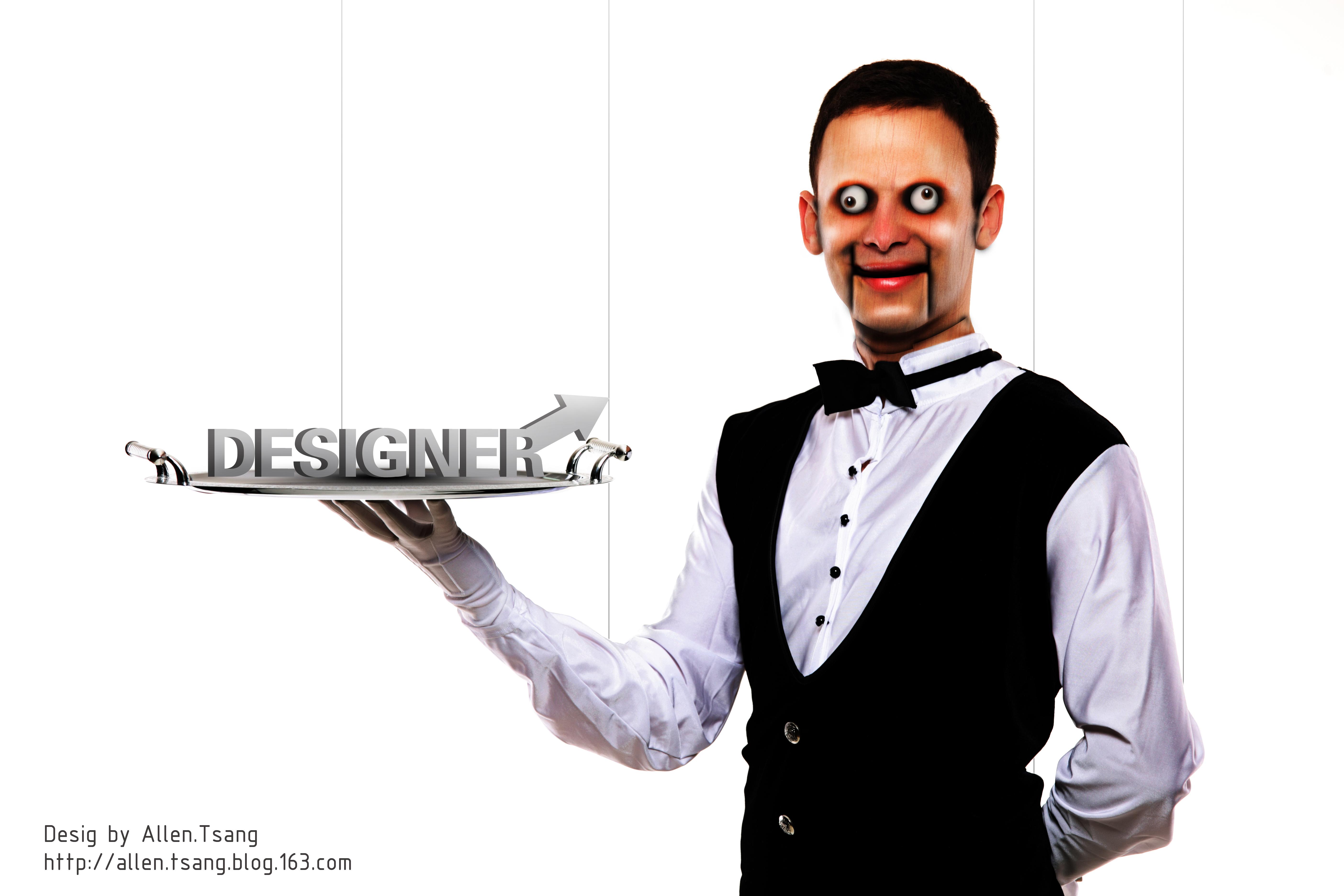 这就是我对设计师这个职称的感悟-木偶图片