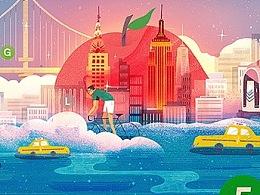 MTA 纽约地铁 | Art cards