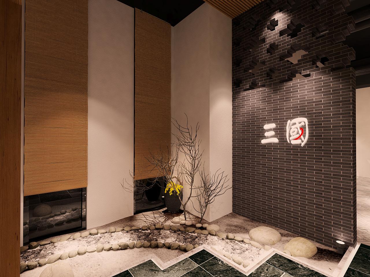 室月亮门室内设计公司门头大厅包间玄关大连有哪些建筑设计走廊图片