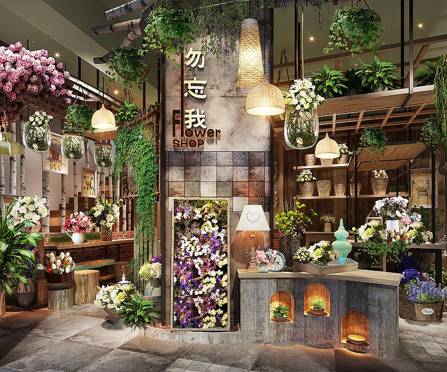 《花艺体验中心装修设计》——成都花艺体验店装修|店图片