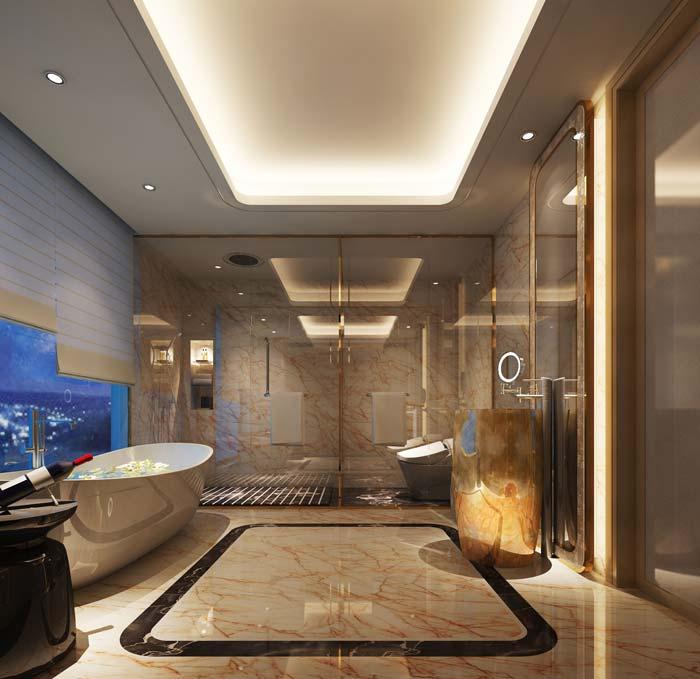 广汉河南平安国际商务酒店装修设计案例|德阳德阳佰斯舜建筑设计有限公司图片