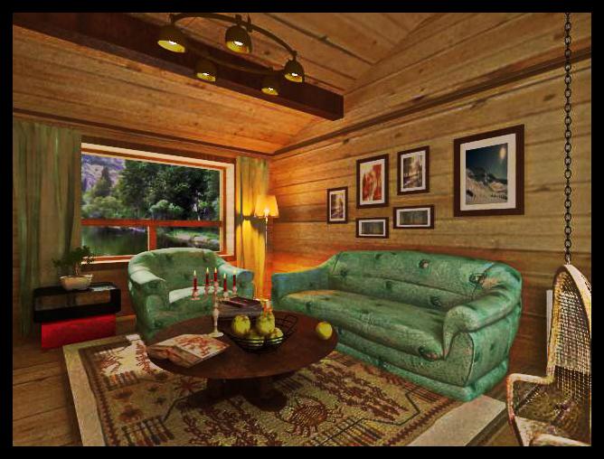 室内木屋装修效果图