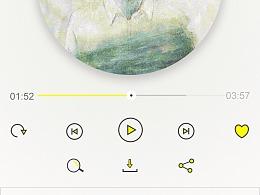 虾米音乐改版练习