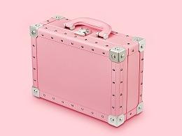 复古PC箱铝合金拉杆箱拍摄旅行箱行李箱拍摄广告拍摄