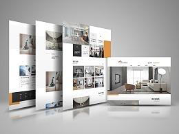 装修公司-企业官网网页设计