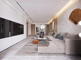 留白设计|公园天下|现代私宅设计预览