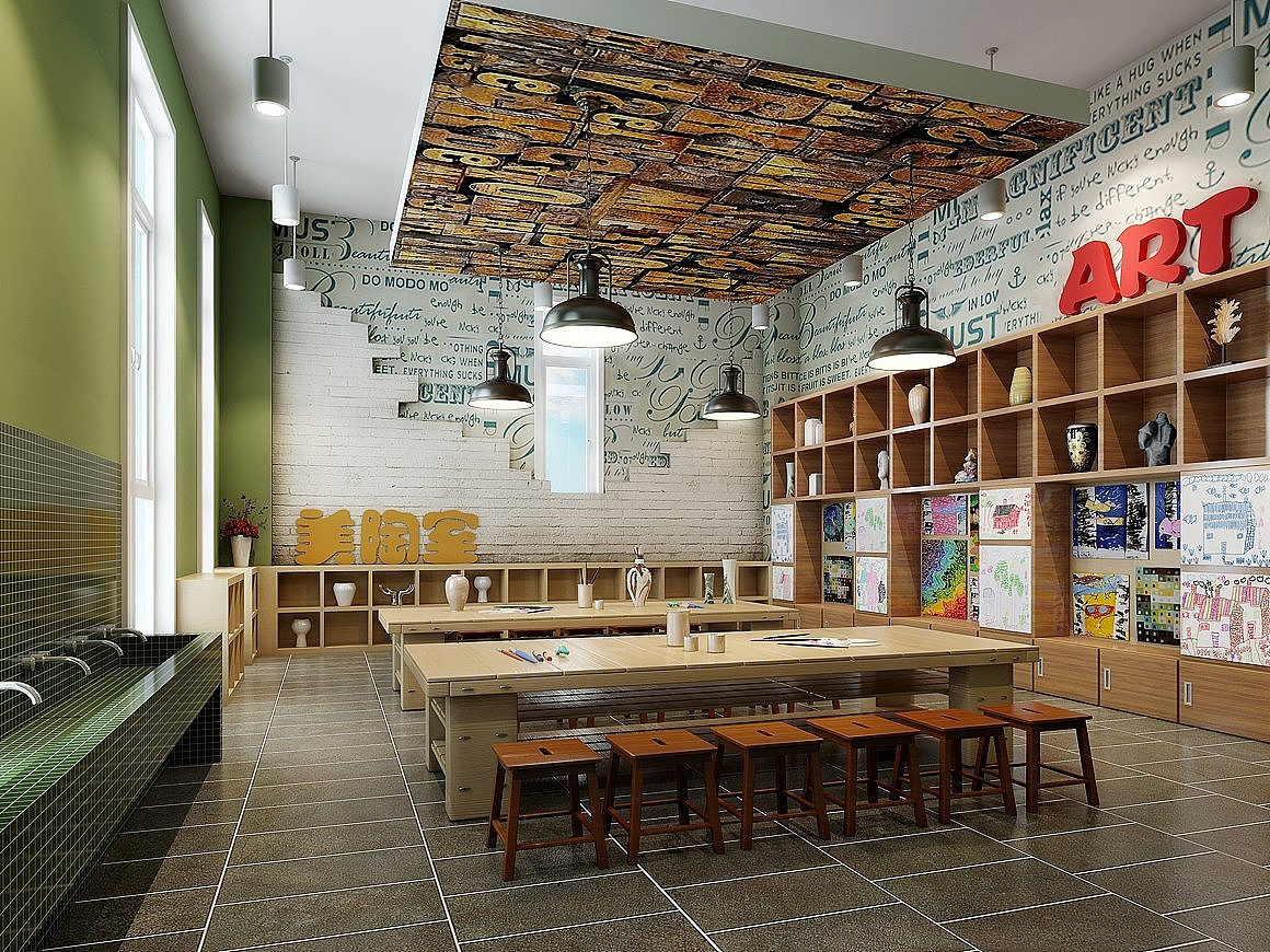 重庆幼儿园装修装饰/幼儿园室内设计/教室环境布置