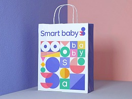 Smart baby品牌形象设计