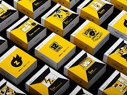 站酷十二周年庆生版投屏礼盒设计