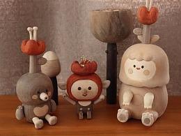 毛毛和又又-婚礼 Moil's handmade