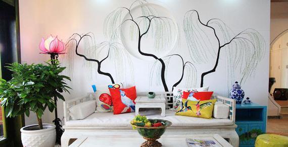 成都手绘墙设计/墙体手绘公司/墙体彩绘设计