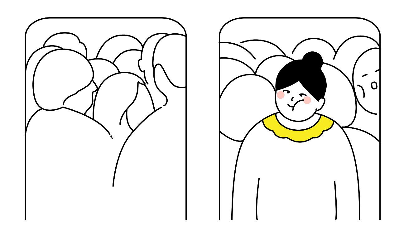 动漫 简笔画 卡通 漫画 手绘 头像 线稿 1280_770