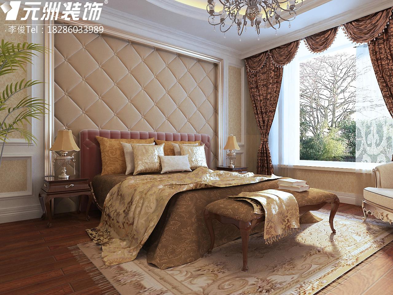 """贵阳市保利温泉180平米""""欧式风格""""装修设计案例图片"""
