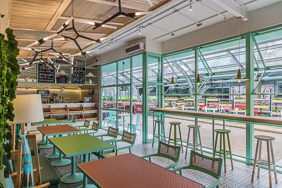 轻快餐店 · 餐饮空间设计_越南粉店 牛檬王东莞店