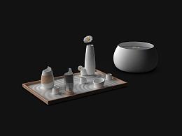 DRIP SERIES:茶具套组