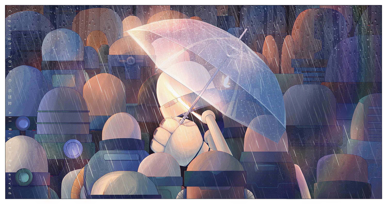 微笑抑郁症|插画|插画习作|忘加盐         - 原创作品 - 站酷 (ZCOOL)2020-02-07-站酷-www.ogywvc.cn-ogywvc.cn
