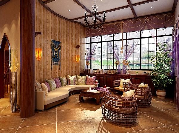 女悦spa瑜伽养生会所|成都美容spa瑜伽会所装修设计效果图|瑜伽会所