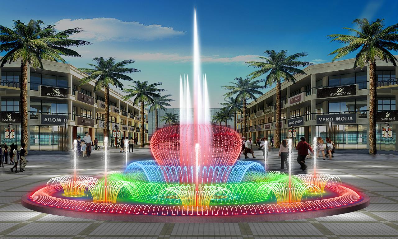喷泉水景设计作品      图片