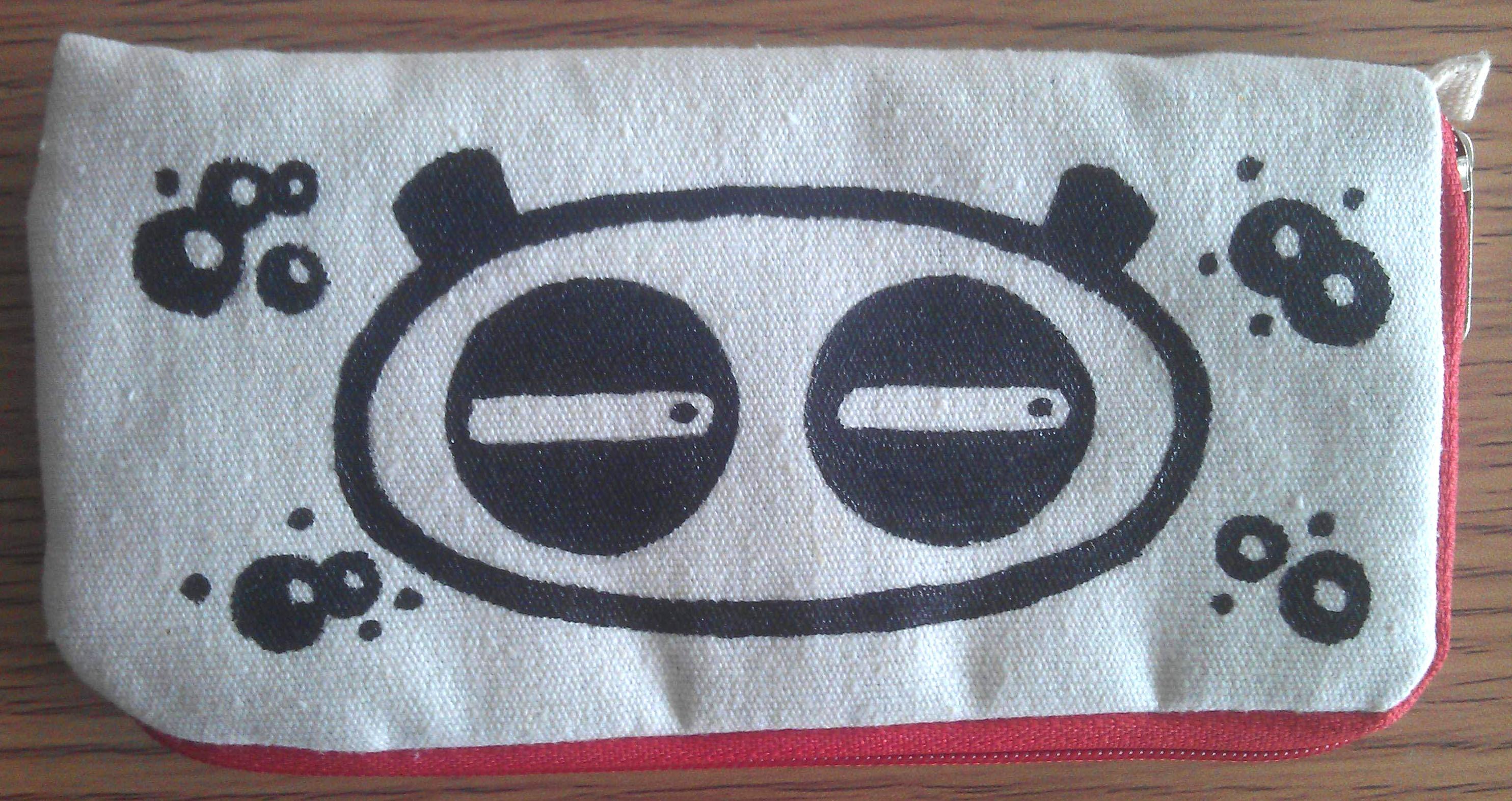 手绘手机袋零钱包
