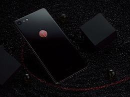 锤子手机坚果Pro2碳黑色 浩瀚的宇宙