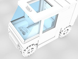 C4D第二次作业-小车建模