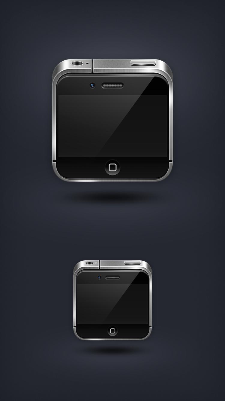 查看《图标琐记 - 02. Phone 4/4S》原图,原图尺寸:750x1334