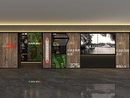 回牛潮汕牛肉火锅---常平店空间设计